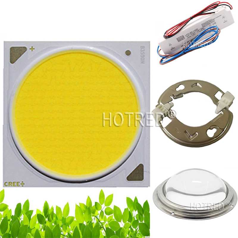 Original Cree COB CXB3590 CXB 3590 led grow light 3000K/3500K/5000K CD Bin 80 CRI 36V cob led grow light for medical plants