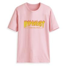 e5db52b99652 Wiron 2019 New Harajuku HYPEBEAST Printed Women T-shirts Casual Tee Tops  Summer Short Sleeve