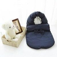 ainomi Baby Sleeping Bag stroller warm winter Envelope Kids Thick foot cover for pram wheelchair Infant stroller foot muff
