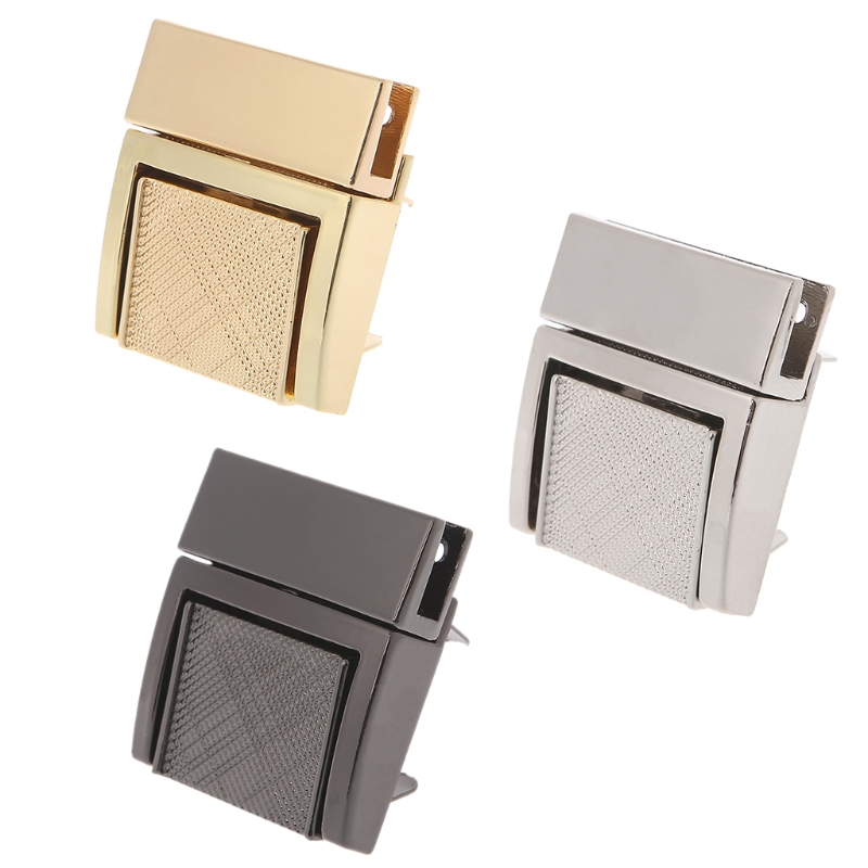 1 Pc Fashion Hardware Purse Twist Lock Metal For Bag Handbag Turn Locks Diy Handmade Bag Clasp High Quality Bag Lock And To Have A Long Life. Luggage & Bags