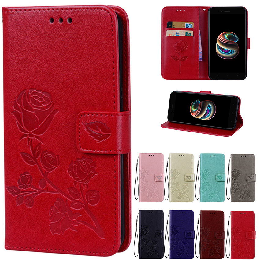Leather Case For Prestigio Wize K3 Psp3519 Duo Cover Wallet Flip Case Cover Coque Capa Phones Bag Home