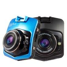 Mini Cámara Del Coche DVR Videocámara 1080 P Full HD Registrator Vídeo Aparcamiento GT300 Grabadora g-sensor de la Rociada Cam_black