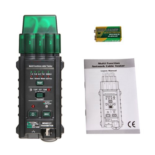 Mastech MS6813 Network Cable Telephone Line Tester Detector Tracker Tracer