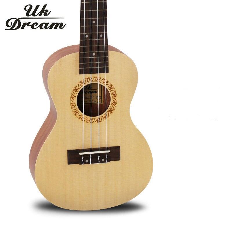 buy 23 inch 17 frets ukulele arched acoustic guitar spruce surface sapele 4. Black Bedroom Furniture Sets. Home Design Ideas
