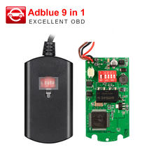 High quality A+ AdBlue Emulation Box 9 IN 1 Full Chip Ad Blue 9in1 For MAN for IVECO for volvo for ford or multi-brands trucks(China)