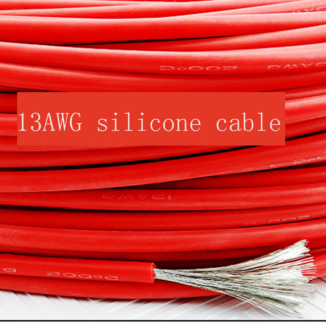 10 meter 13AWG Weiche Silikon Kabel 2.5mm2 Ultra Flexiable Testlinie ...