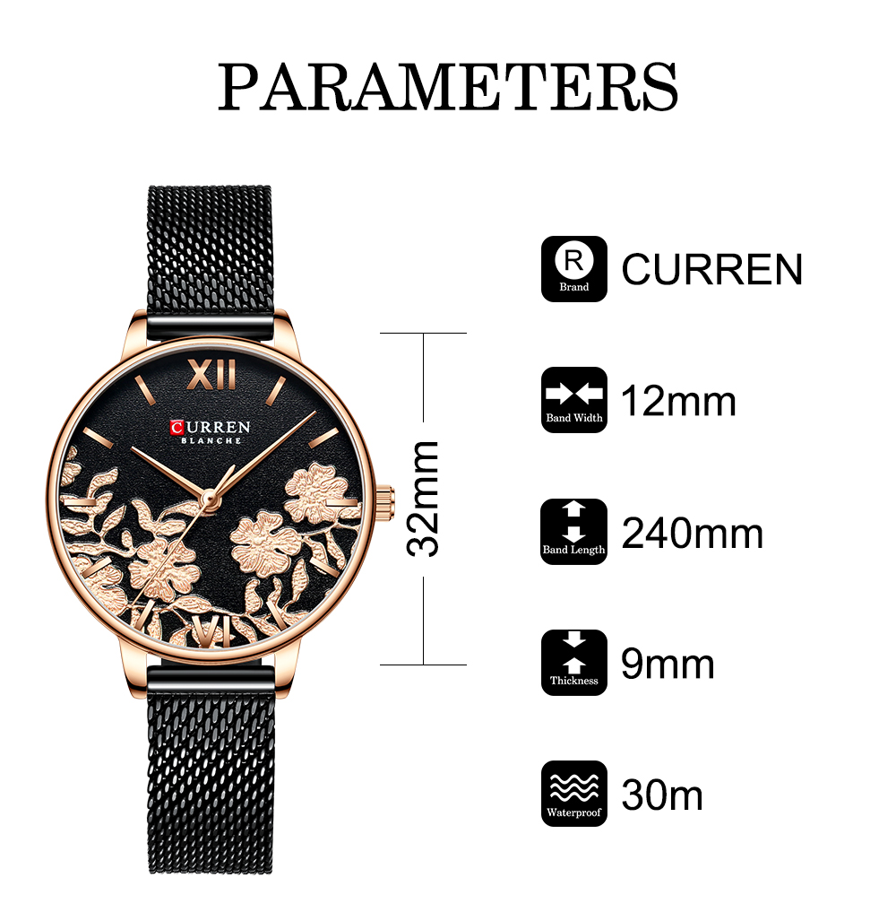 Top Brand Luxury Stainless Steel Ladies Watch HTB10FTcaMaH3KVjSZFpq6zhKpXa7 Ladies watch
