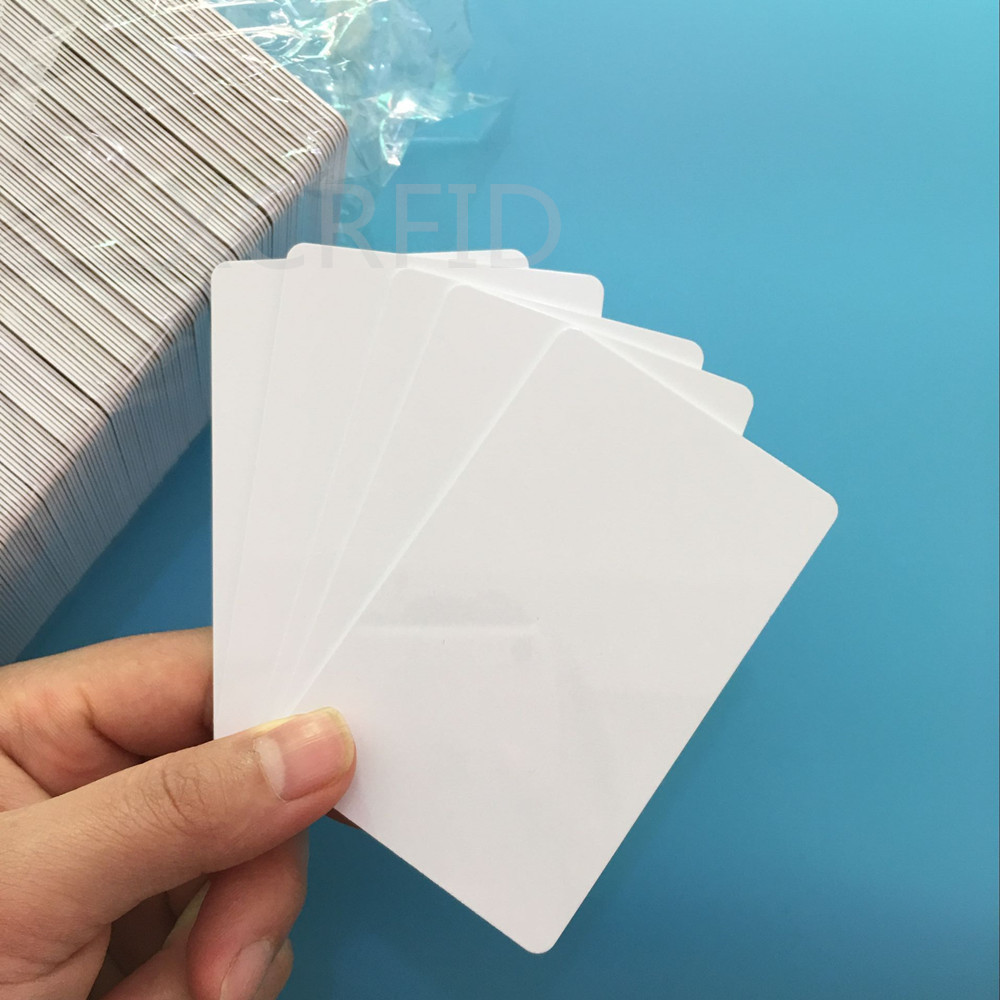 10PCS 13.56MHz White M1 S50 MF Ultralight EV1 Chip Access Control Ving Card Encrypted Rfid Hotel Key Card Guest Room Card