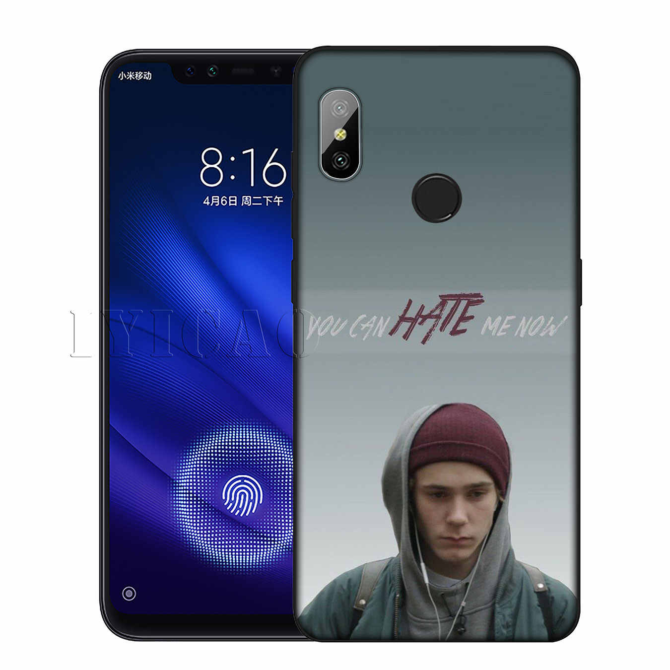 IYICAO Norwegian tv SKAM Silicone Soft Case for Xiaomi Redmi 6A 5A Note 8 7 4 4X 5 Plus 6 Pro Black TPU Cover