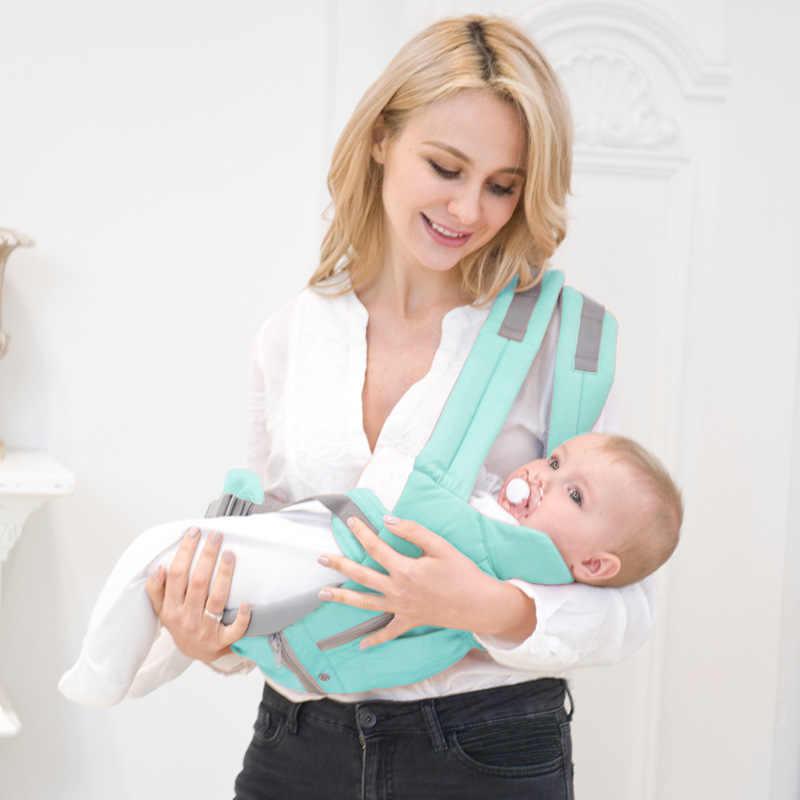 Эргономичный слинг для младенцев детский Хипсит слинг передняя сторона кенгуру Слинги для младенцев для путешествий 0 18 месяцев