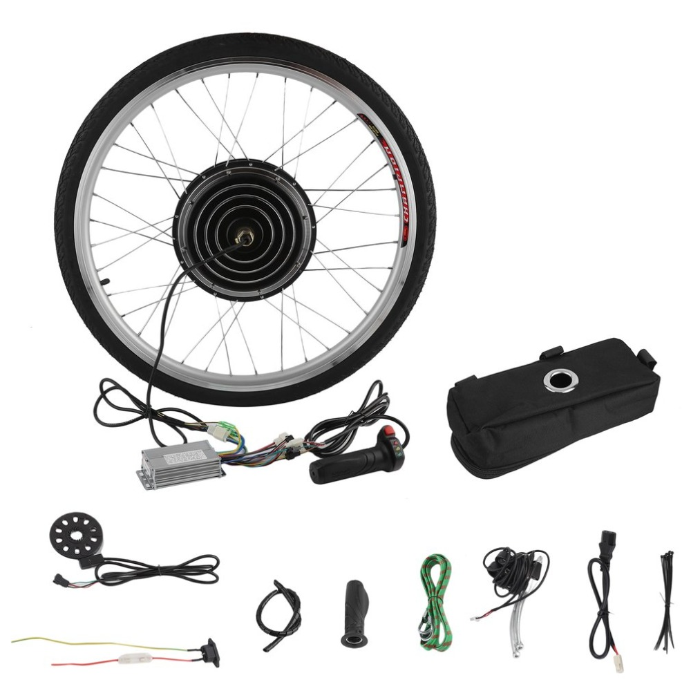 36V 250W Professional Electric Bicycles E-Bike 26inch Front Wheel Conversion Kit Powerful Cycling Motor Replace Set