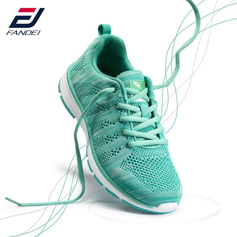 Chaussures de course femmes sneakers femmes sport chaussures femmes FANDEI 2017 respirant free run zapatillas deporte mujer sneakers pour filles