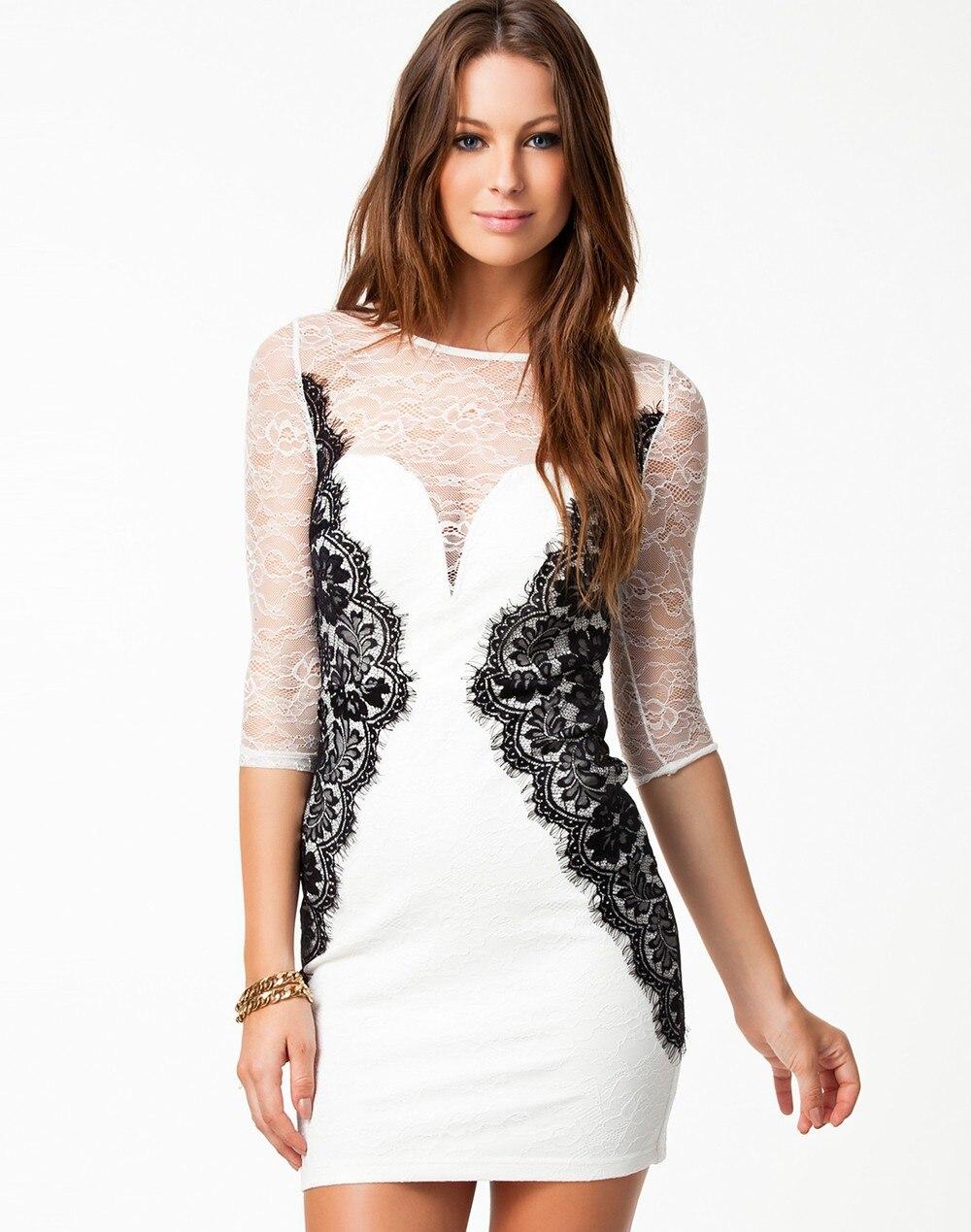 sexy kurzes kleid