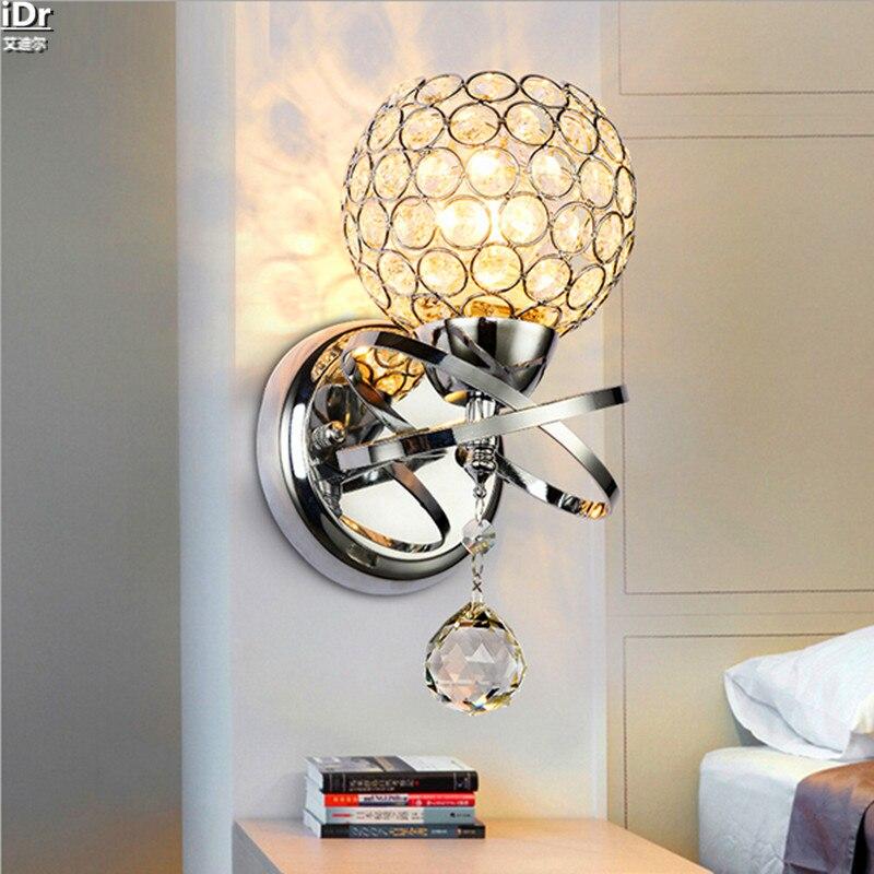Europese kristallen lamp slaapkamer bedlampje verlichting de ...