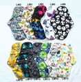"1  U PICK  LONG  Panty Liner 10"" Reusable Washable CHARCOAL Bamboo Mama Cloth Pad, Menstrual Sanitary Maternity Mama Soft Pad"
