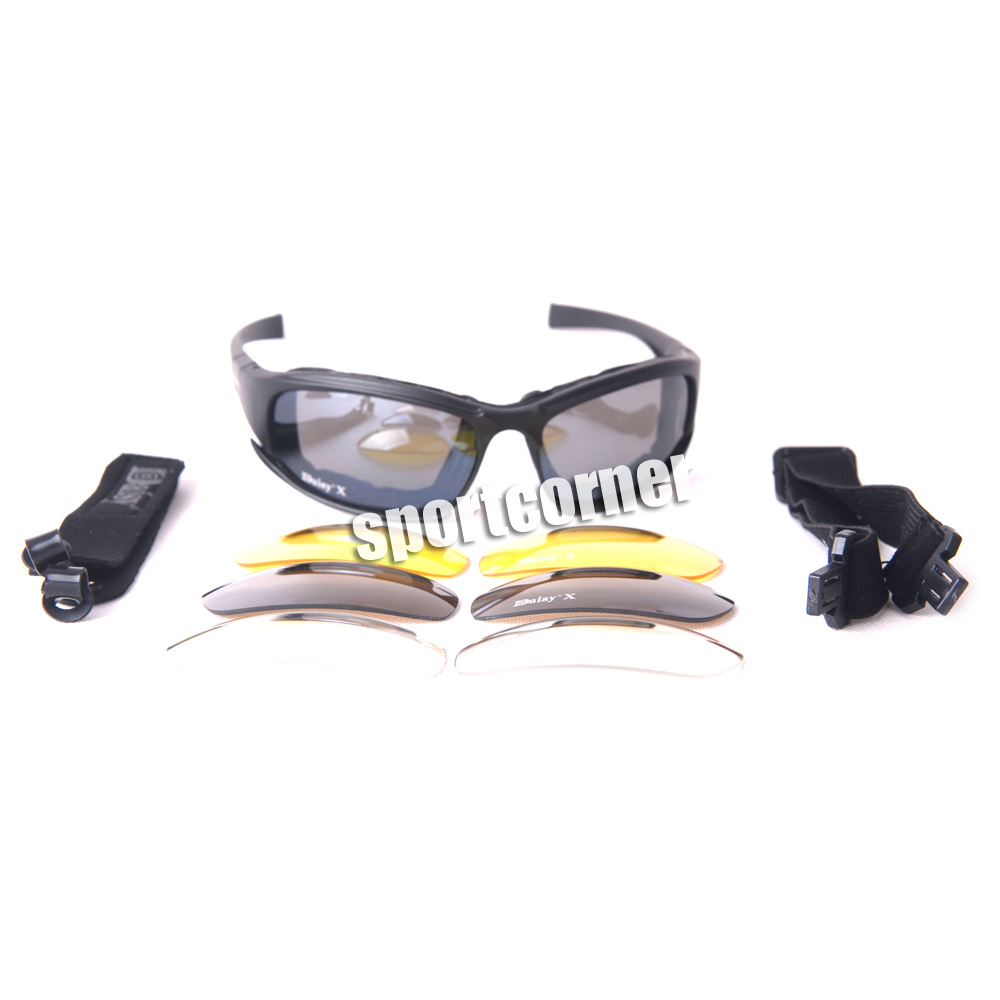 8b822c2fea Tactical daisy X7 Glasses Military Goggles Bullet proof Army Sunglasses  With 4 Lens-in Skiing Eyewear from Sports   Entertainment on Aliexpress.com  ...