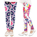 2-13 Years Girls Leggings Spring Summer 2016 Printing Flower Baby Kids Leggings Toddler Children Clothing Girls Pants Trousers