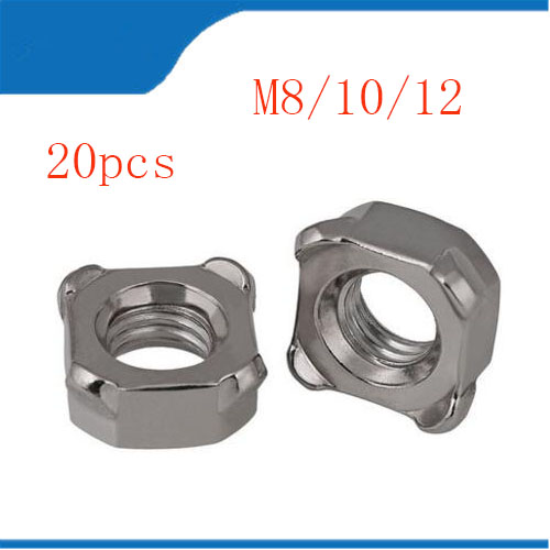 304 Stainless Steel Nylon Lock Nuts Assortment Kit M3 M4 M5 M6 M8 M10 M12