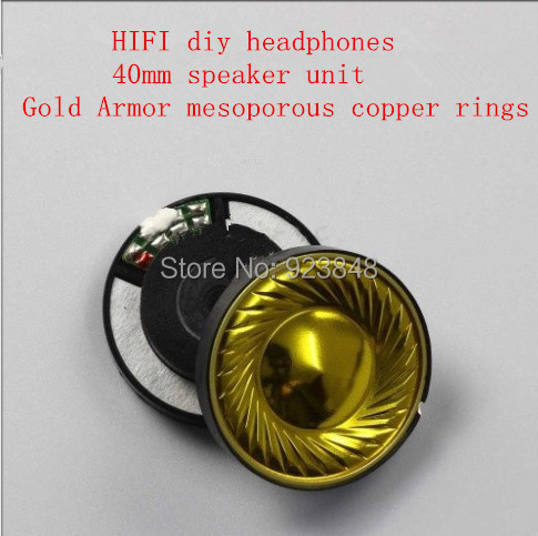40mm speaker unit  hifi diy headset accessories