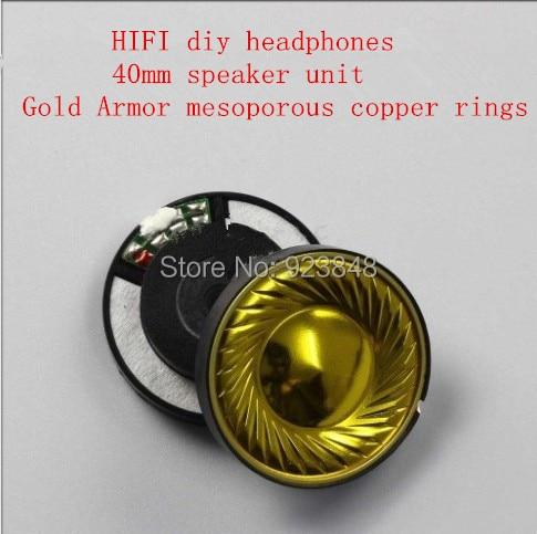 40mm hoparlör ünitesi hifi diy kulaklık aksesuarları 2 - Taşınabilir Ses ve Görüntü
