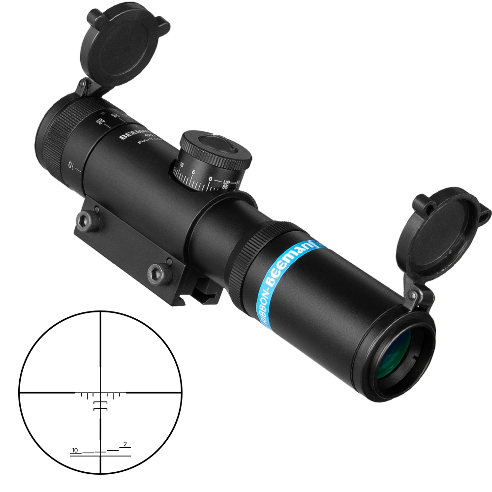 New EB SS2 4x21 AO Compact Hunting Air Rifle Scope Tactical Optical Sight Glass Etched Reticle Riflescopes With 11mm Rail
