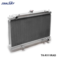 PIVOT For Nissan Silvia S14 S15 SR20DET 240SX 200SX Aluminum Race Radiator 2 Row MT Manual