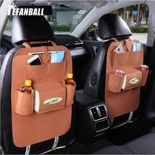 1PC voiture sac de rangement universel boîte siège arrière sac organisateur support siège arrière poches voiture style protecteur Auto accessoires