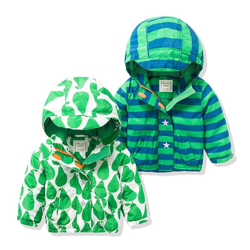 Бренд Весенние Детские жакеты плюс бархат Обувь для мальчиков верхняя одежда пальто 2 до 8 лет дети с капюшоном Водонепроницаемый ветрозащи...