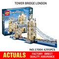 Nueva Creador LEPIN 17004 Calle de La Ciudad de Londres puente Kits de Edificio Modelo Ensamblar Juguetes Ladrillo Compatible 10214 Juguetes Educativos