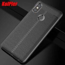 цена на KOLPLER Soft TPU Silicone bumper case for xiaomi redmi note 5 case cover Leather case cover for xiaomi redmi note 5 bumper bag
