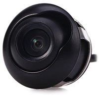 360 Degrees Adjustable Car Reverse Backup Rear View Camera Drilling CCD Flush Mount Waterproof Night Vision