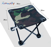 Small Outdoor Light Aluminum Alloy Steel Portable Folding Chair Stool Sketching Train Camping Fishing Chair Art