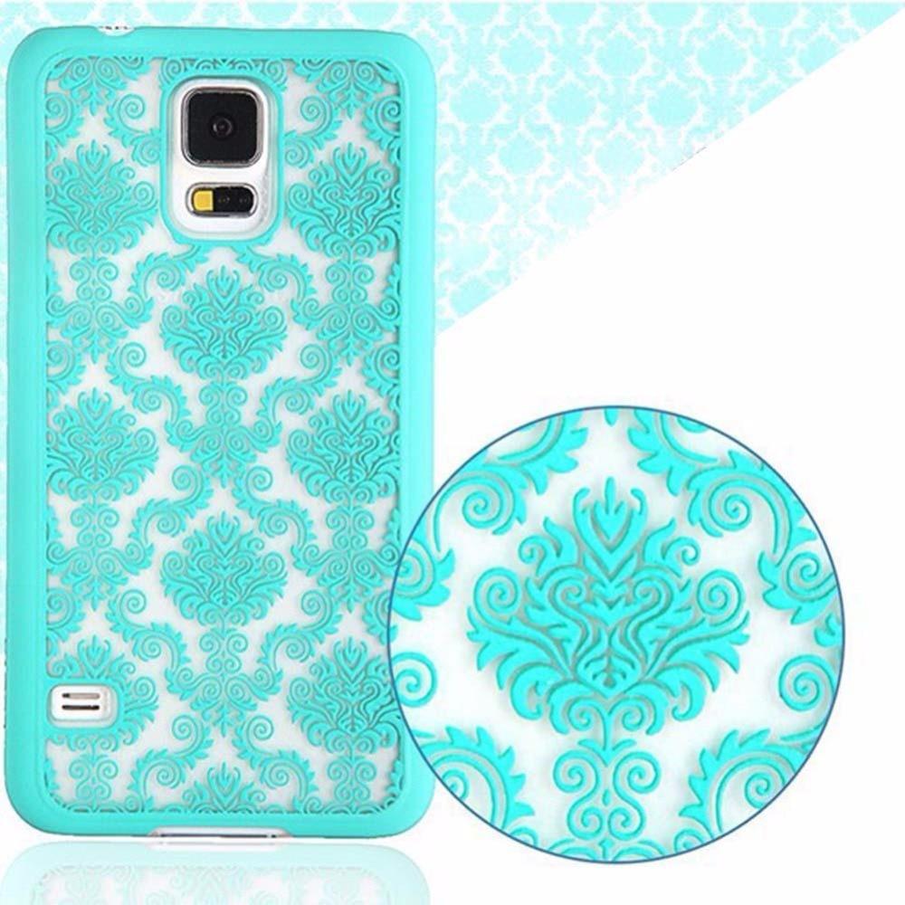 Luxury Slim Flip PC Hard Case Cover Skin For Phone Samsung Galaxy S5 Green