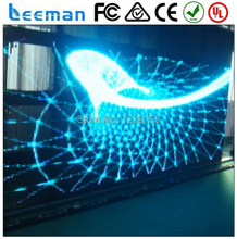 P35/55/80/110/160mm Flexible foldable soft rolling up dot matrix led strip led mesh cube curtain design video wall screen 2015