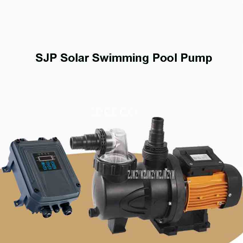 New SJP21/19 D72/900 Solar Water Pump Energy saving Swimming Pool Circulating Pump Silent Large Flow Horizontal Centrifugal Pump