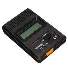 ТМ-902C Черный K Тип Цифровой ЖК Датчик Температуры Термометр Промышленный Thermodetector Метр + Термопары Зонда Новый