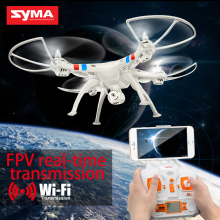 Syma X8W RC Drone Wifi FPV Camera HD Video Remote Control LED Quadcopter Toy Helicoptero Air Plane Aircraft Children Kid Gift