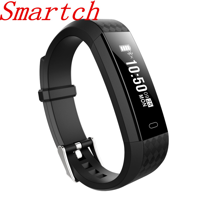 Smartch ZY68 Smart Bracelet Fitness Tracker Heart Rate Counter Activity Monitor Band Alarm Clock Vibration Wristband PK ID115
