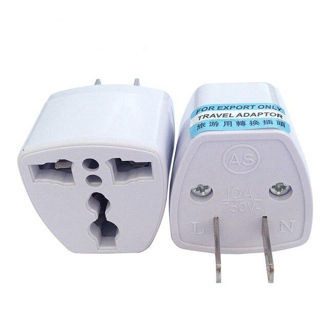 DINTO 100pcs/lot Universal Travel Power Plug EU UK AU to US ...