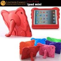 For ipad mini Case Colorful Kids Thick Foam EVA Shock Proof Foam elephant character Case For Apple iPad mini 2 3 Silicone Cover