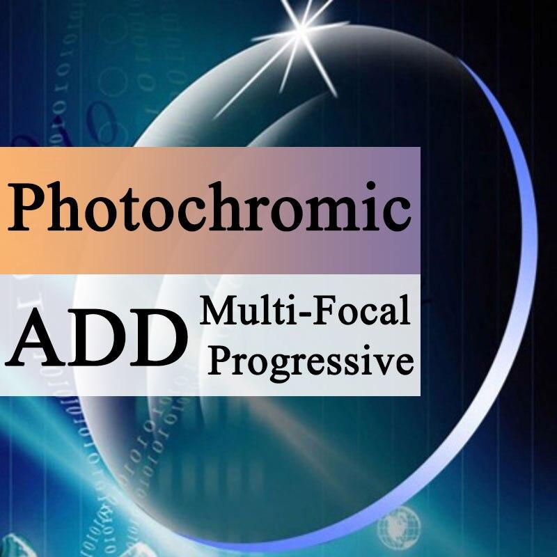 A Pair Optical Lens Progressive Multi-focus & Photochromic Myopia Presbyopia Scratch-resistant 1.56 1.61 1.67 1.74 Index