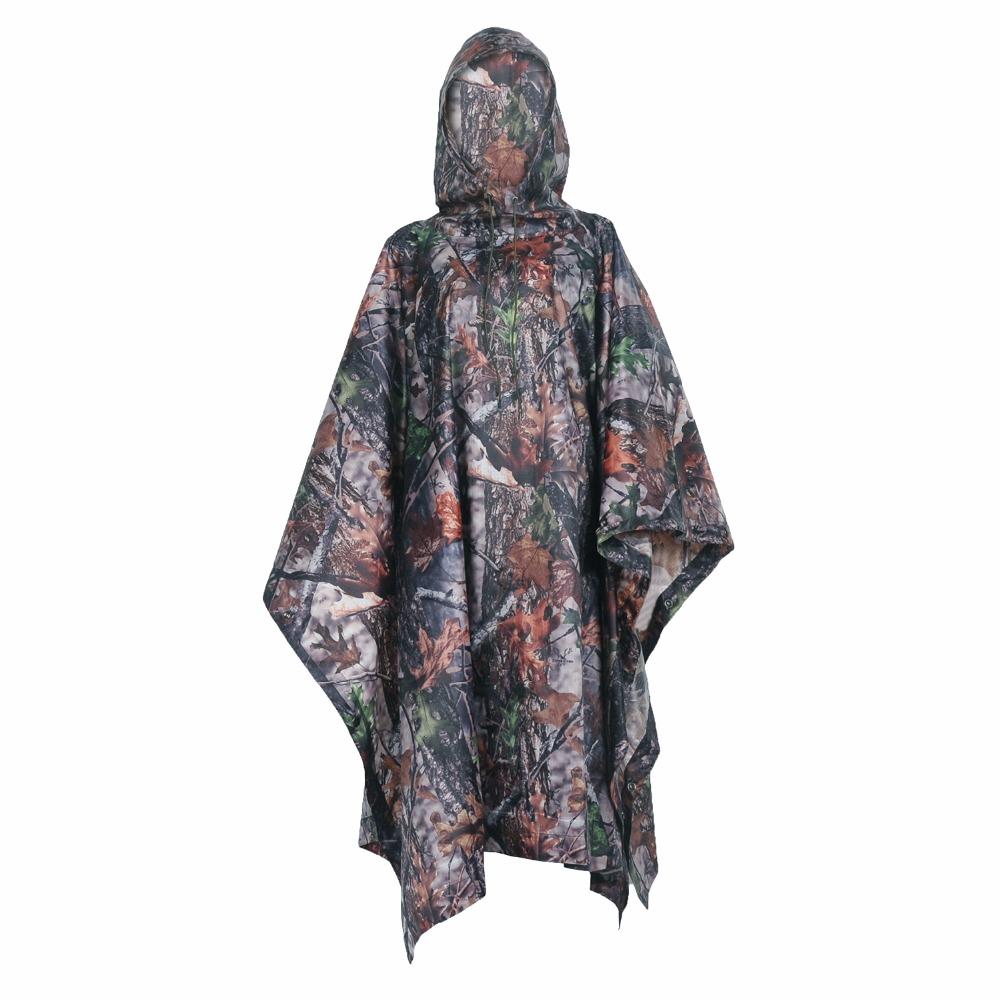 Image 4 - VILEAD Polyester Impermeable Outdoor Raincoat Waterproof Women Men Rain Coat Poncho Cloak Durable Fishing Camping Tour Rain Gear-in Raincoats from Home & Garden