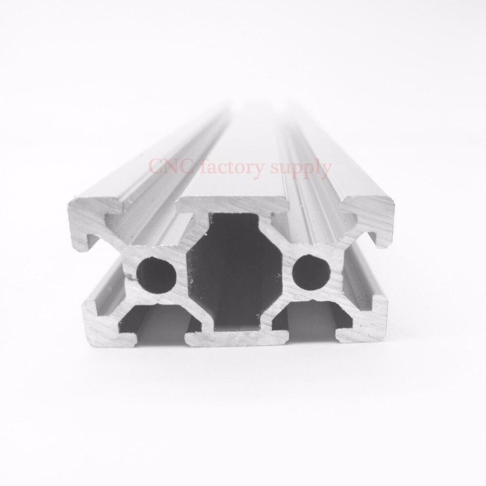 HOT Sale CNC 3D Printer Parts European Standard Anodized V Slot Linear Rail Aluminum Profile Extrusion