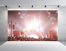 SHENGYONGBAO Art Cloth Custom Photography Backdrops Castle theme Photo Studio Prop Photography Background SS-00080 цена