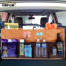 Araba bagaj çantası SUV araba organizatör araba koltuğu organizatör araba depolama bing kutusu boyutu 90*48cm bagaj organizatör ücretsiz kargo