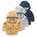Children windbreaker coat autumn new kids children's coat cotton windbreaker jacket 7006 baby