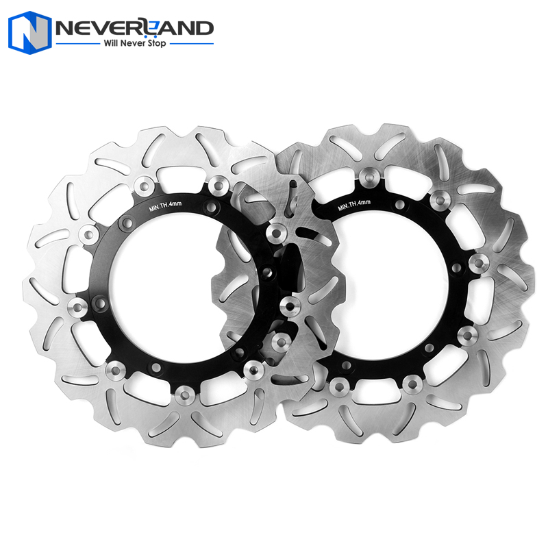 Front Brake Disc Rotor For Aprilia ETV CAPO NORD ABS 1000 2001 2002 2003 2004 2005 2006 2007 Motorcycle motorcycle accessories brake rotor moto brake disc rotors for yamaha yzf600 yzf 600 r6 2003 2004 2005 2006 yzf1000 r1 2004 2006