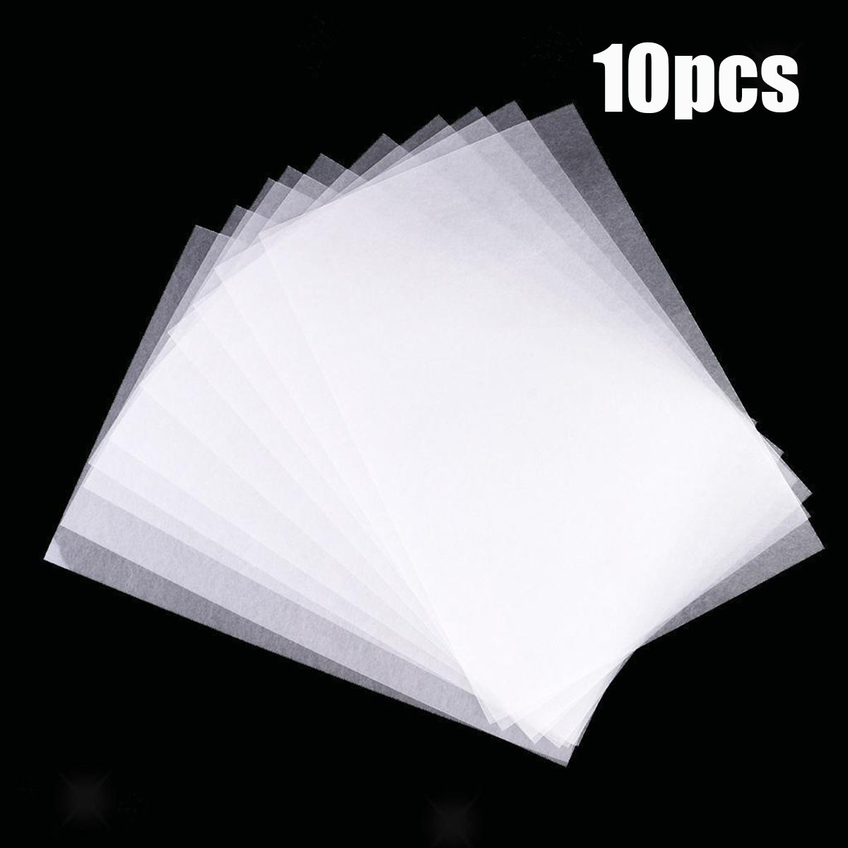 10 Pcs Heat Shrink Papers Film Sheets DIY Jewelry Hanging Craft Making Decor Paper Cards Art Scrapbooking Die Cut Polish Boards