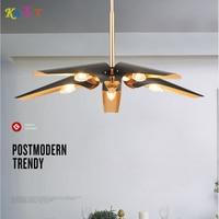 KAIT Modern LED Chandeliers Lighting For Dining Living Room Bedroom Black Inside gold Chandeliers Lamps