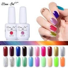 Beau Gel 15ml 298 Colors Gel Nail Polish Soak Off  UV LED Gelpolish Nail Gel Varnish Pure Color Nail Art Manicure Hybrid Lauquer все цены